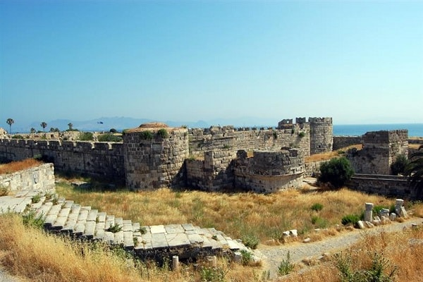 The Castle of Knights in Kos